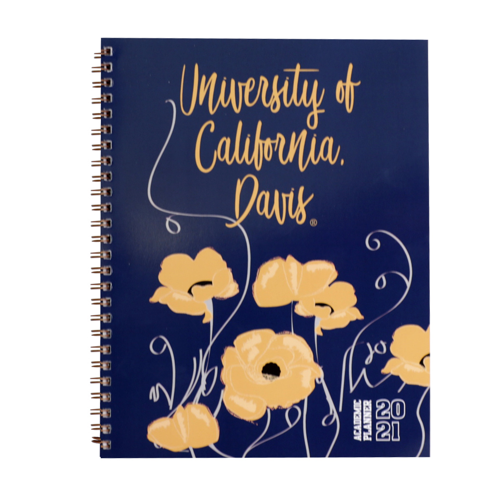 Image For UC Davis Academic Planner Poppies 2020-2021