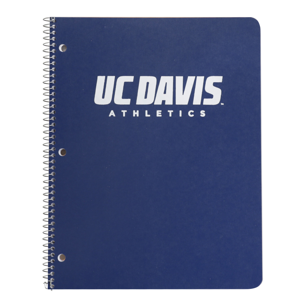 Image For Ampad® UC Davis Athletics 1 Subject Notebook Asst. Colors