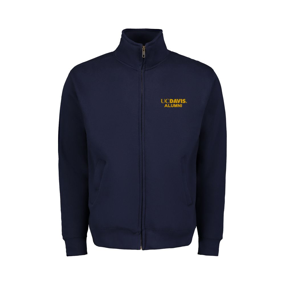 Image For MV Sport® UC Davis Alumni Navy Full Zip
