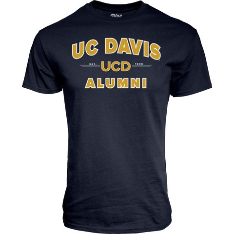 Image For Blue84 UC Davis navy Alumni T-shirt