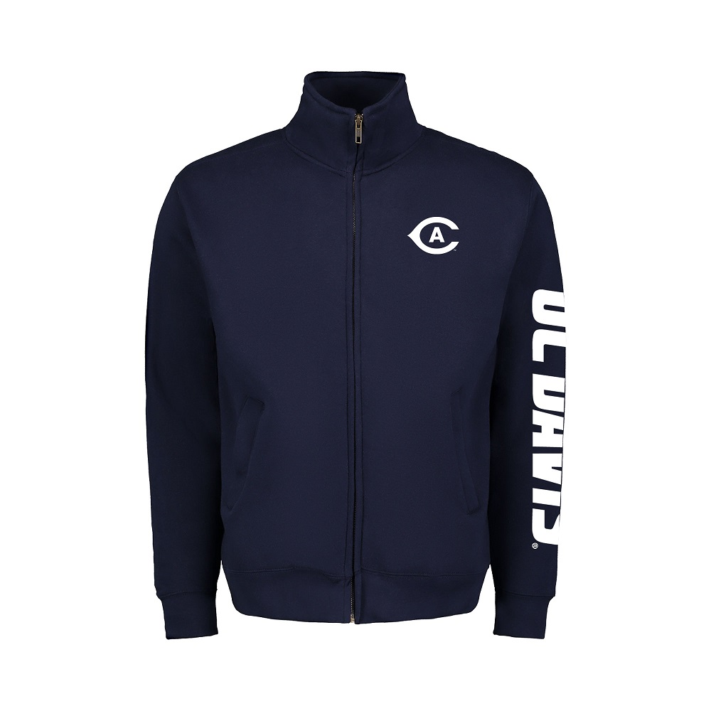 Image For MV Sport® UC Davis Game Day Navy Full Zip
