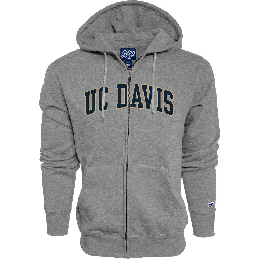Image For Blue 84® UC Davis Graphite Full Zip Hoodie Originally $62.99