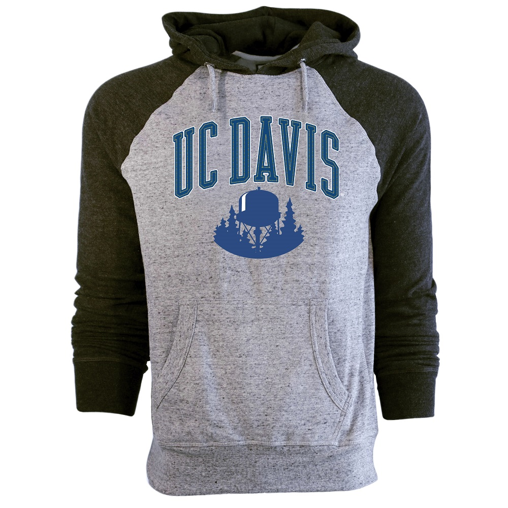 Image For Campus Crew® UC Davis Water Tower Hood Originally $77.99