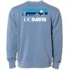 Cover Image for Blue 84 UC Davis Split Font Crew neck Sweatshirt Navy