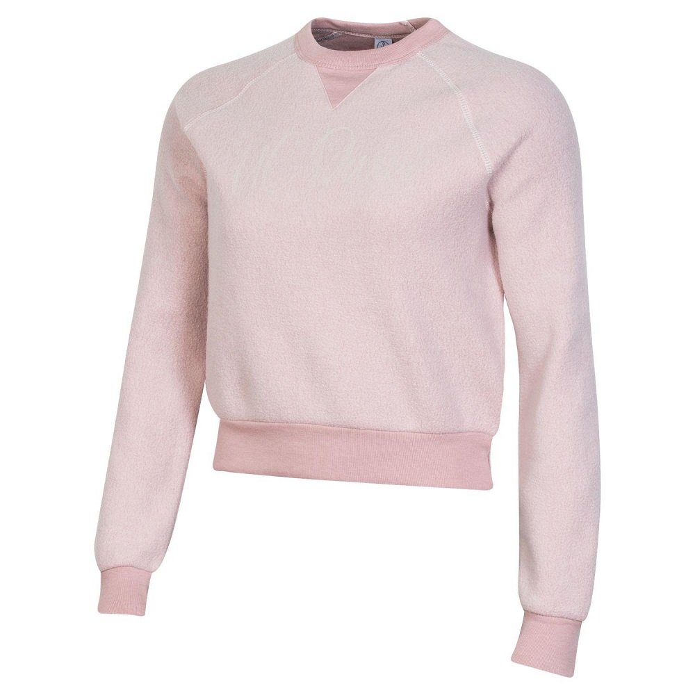 Image For Gear® Women's Rose Quartz Eco-Fleece Crew