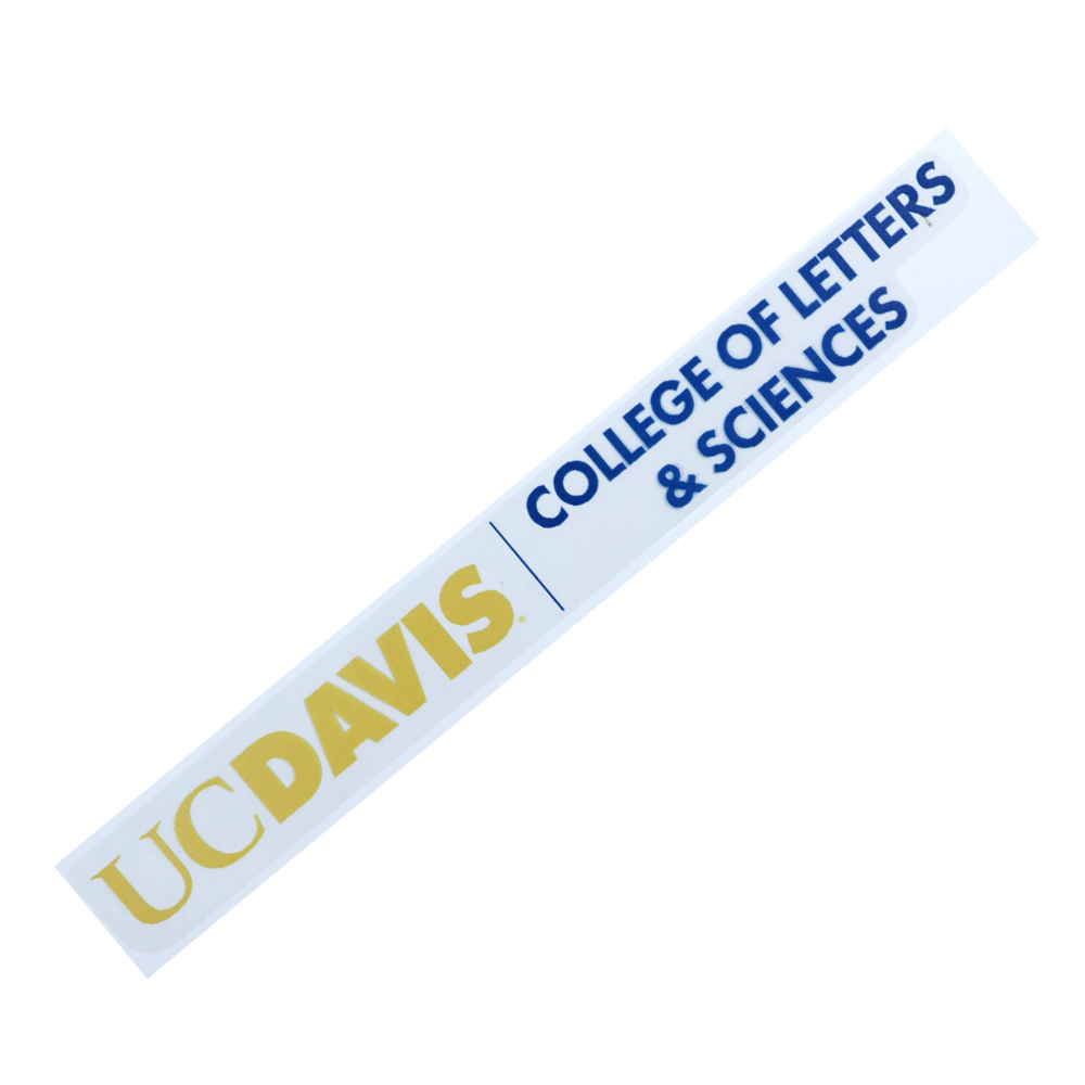 Image For UC Davis College Of Letters and Sciences Decal
