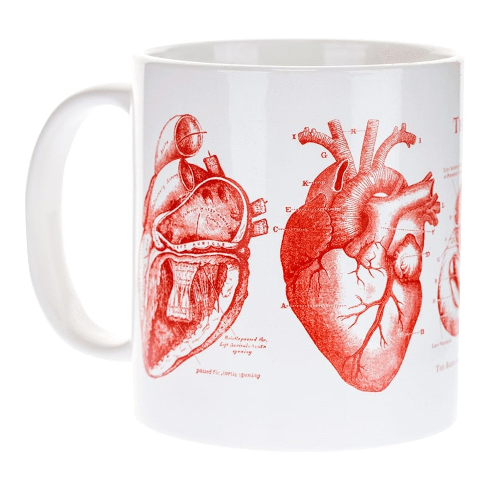 Image For Cognitive Surplus The Heart Ceramic Mug 20oz.