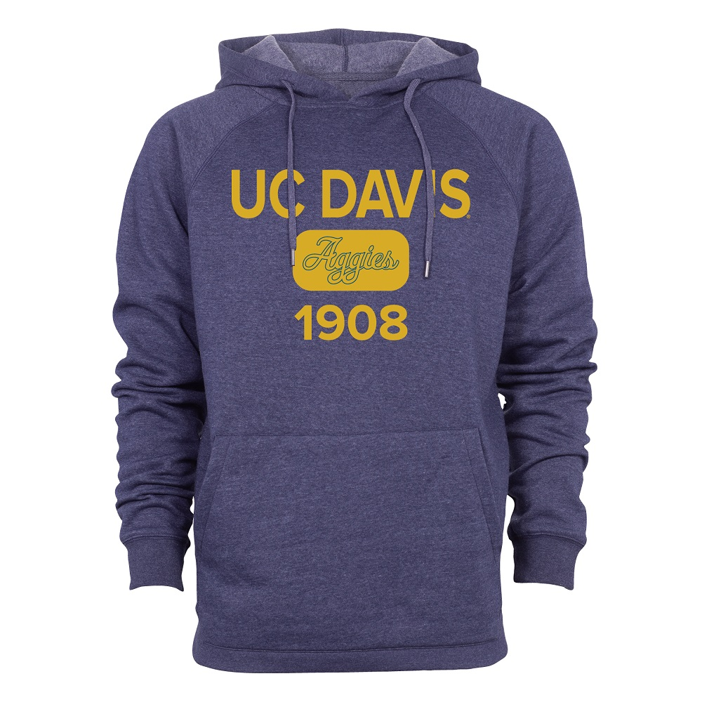 Image For Ouray® UC Davis Navy Heather Hood