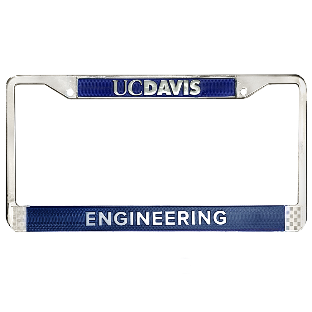 Image For UC Davis College of Engineering License Frame
