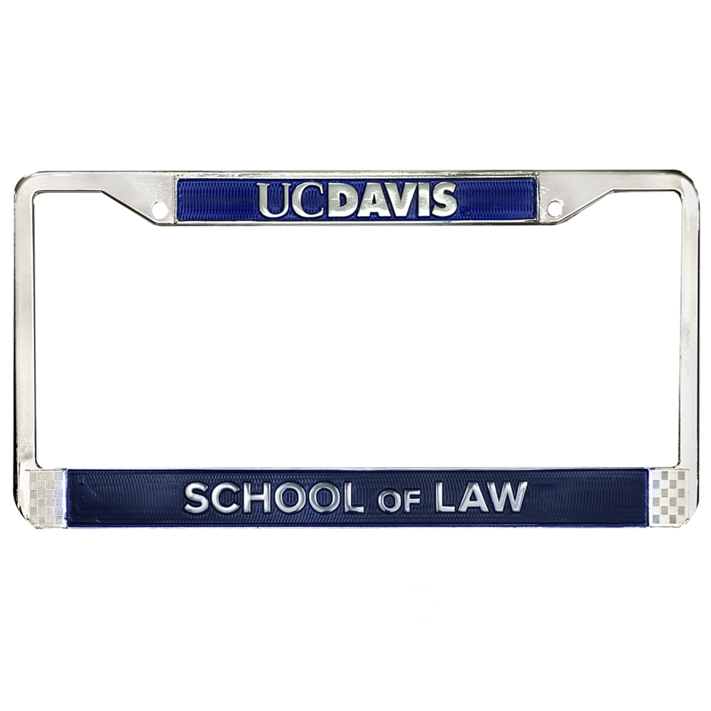 Image For UC Davis School of Law License Frame