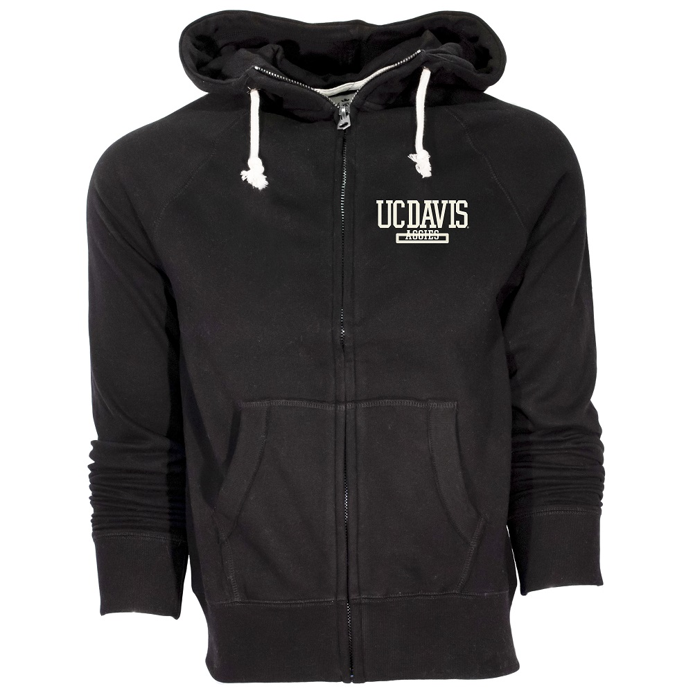 Image For Campus Crew® Black Full Zip Hood
