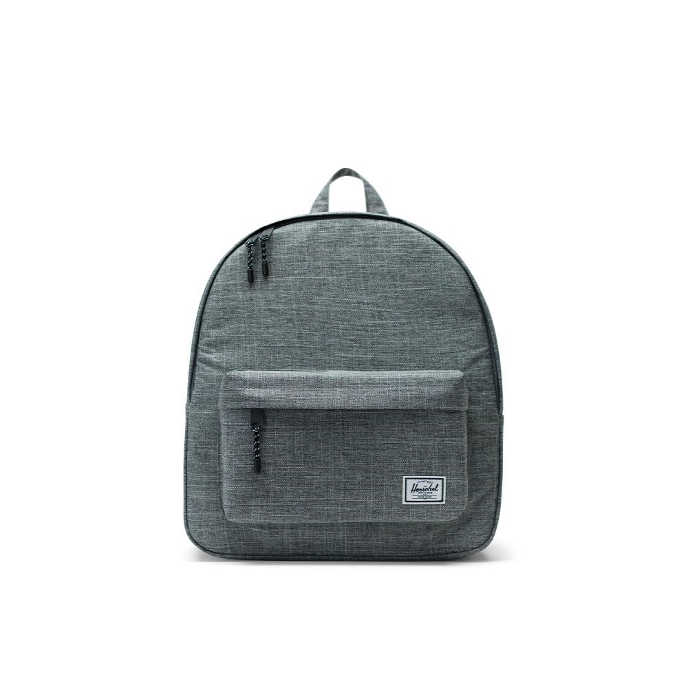 Image For Herschel Supply Co. Classic Backpack Raven Crosshatch