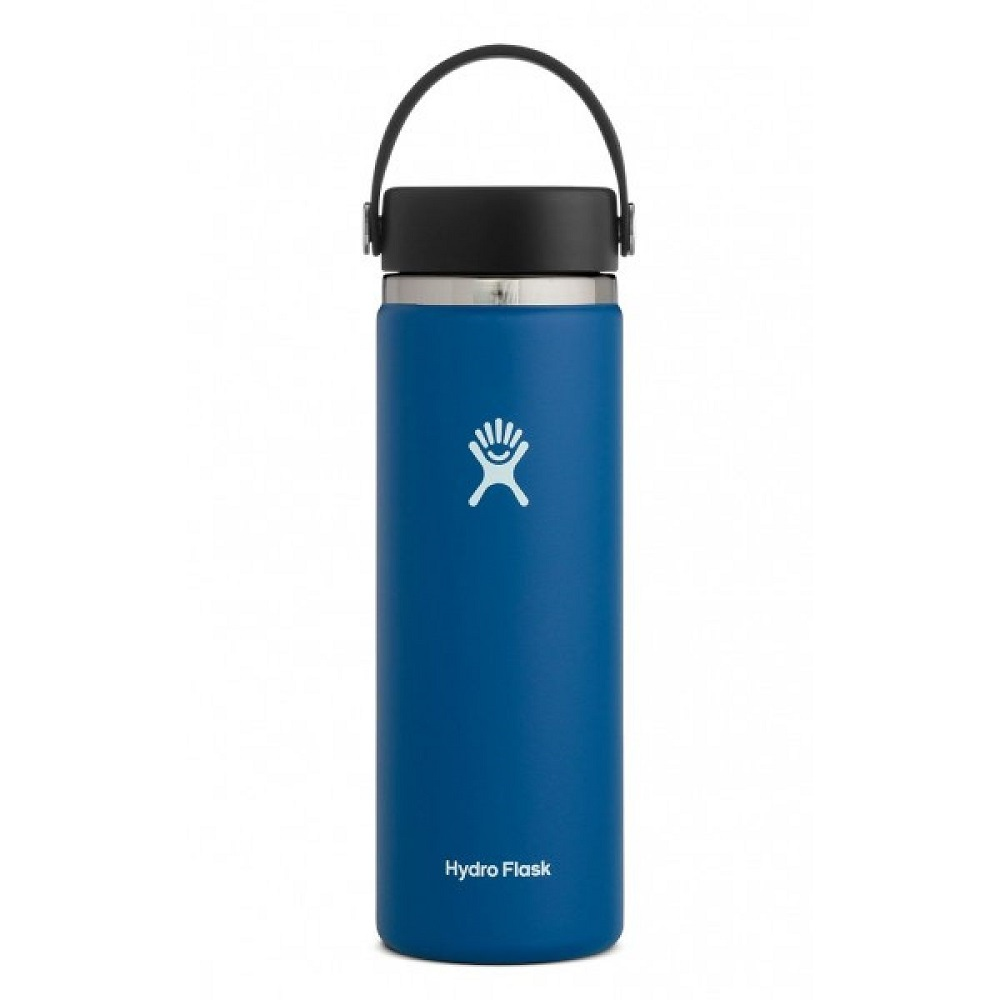 Image For Hydro Flask® 20oz Wide Mouth Water Bottle Cobalt
