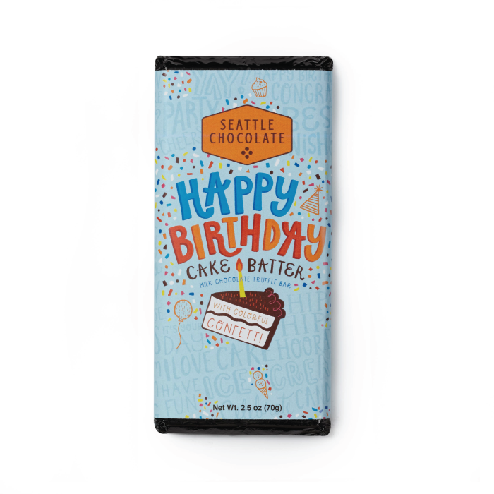 Image For Seattle Chocolate Company Happy Birthday Cake Batter Truffle