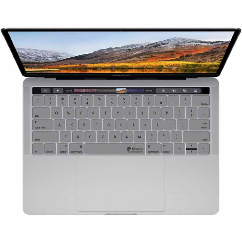 Image For KB Covers Keyboard Cover Macbook Pro/ Macbook Silver