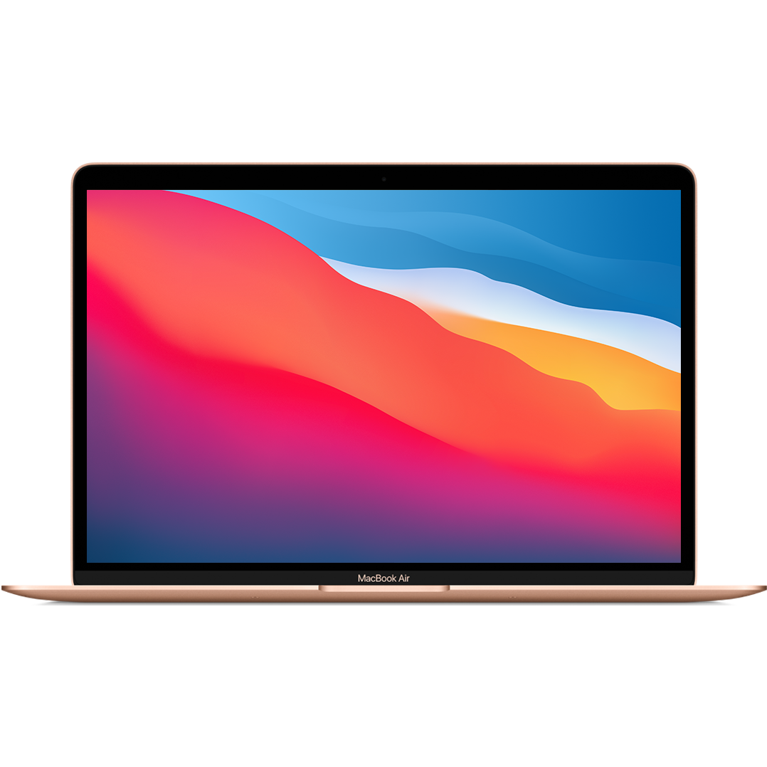 Cover Image For 13-Inch Macbook Air: Apple M1 Chip 256GB Gold