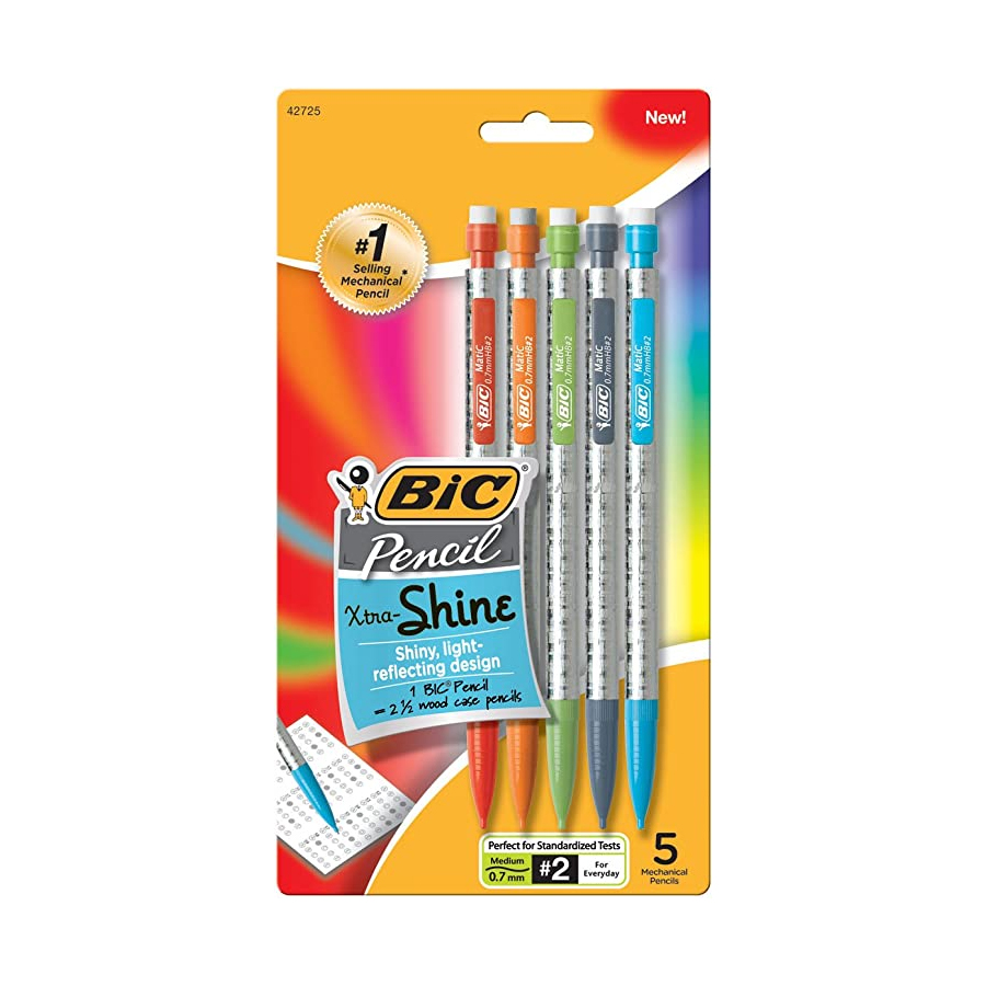 Image For Bic® Xtra-Shine Mechanical Pencils Set of 5