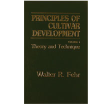 Image For Principles of Cultivar Development