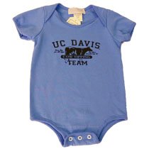 Cover Image For ThirdStreet Infant Onesie Blue Cow Tipping